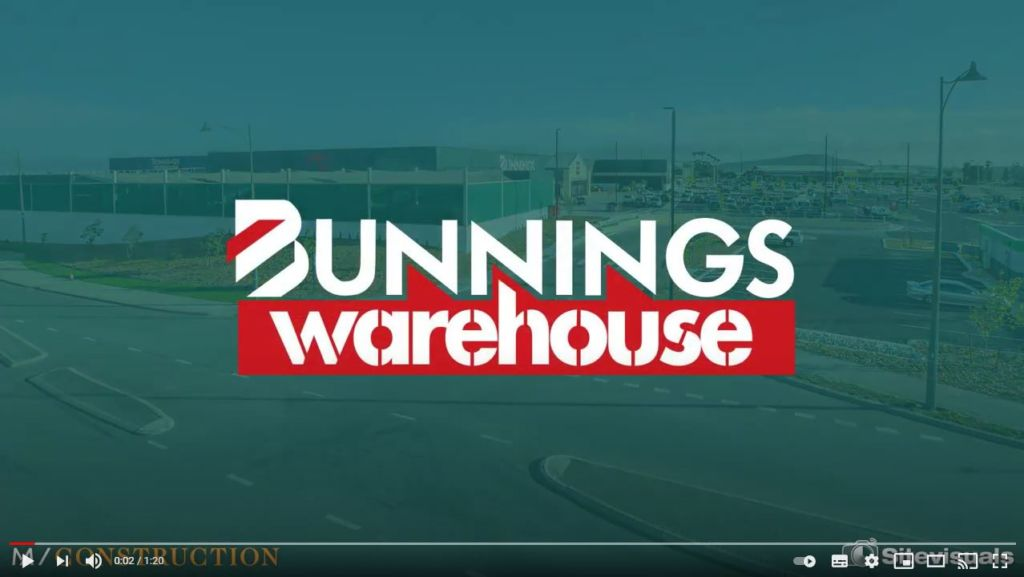 Bunnings Video - Screenshot